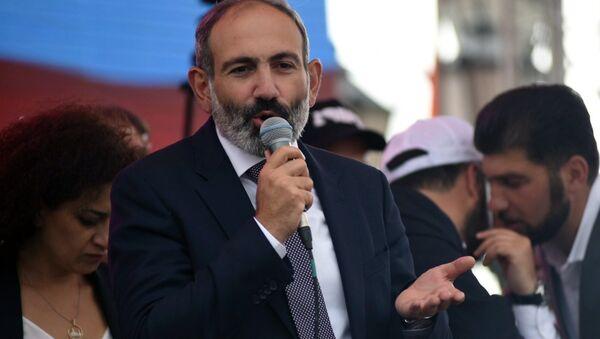 Nikol Pashinián, ex primer ministro de Armenia - Sputnik Mundo