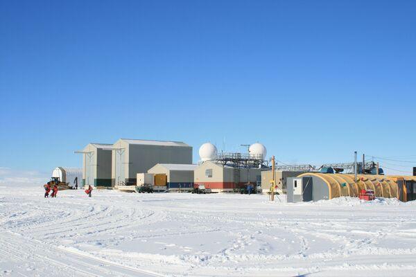 El campamento de los investigadores - Sputnik Mundo