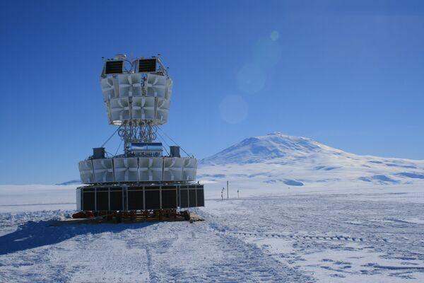 Un bloque de antenas de radio ANITA - Sputnik Mundo