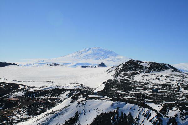 Vista del volcán Erebus - Sputnik Mundo