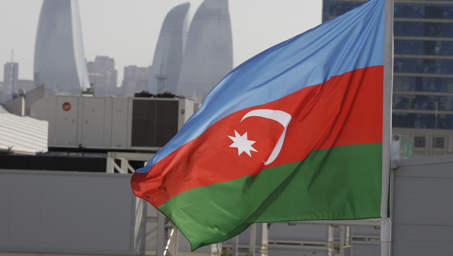 Bandera de Azerbaiyán - Sputnik Mundo, 1920, 09.02.2021