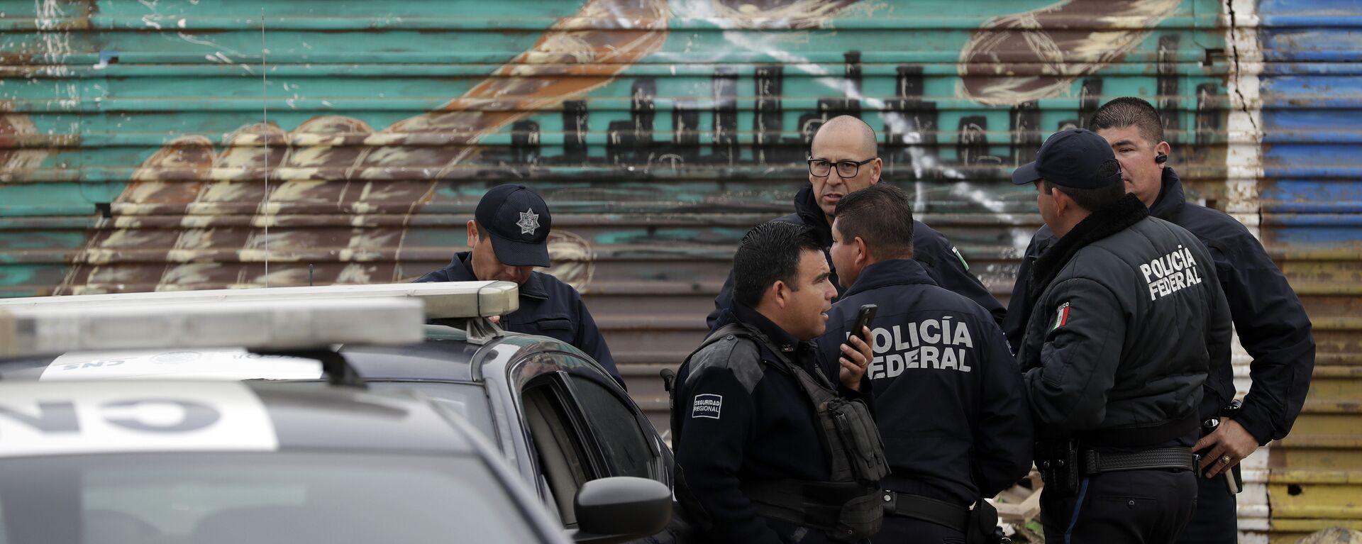 La Policía Federal de México - Sputnik Mundo, 1920, 29.03.2021
