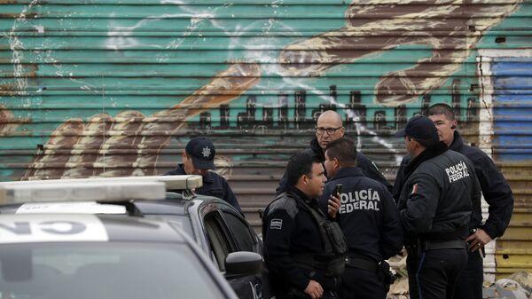 La Policía Federal de México - Sputnik Mundo