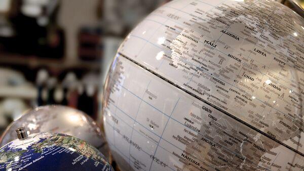 África en el globo (imagen referencial) - Sputnik Mundo