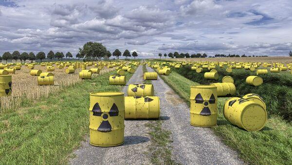 Residuos radiactivos (imagen referencial) - Sputnik Mundo