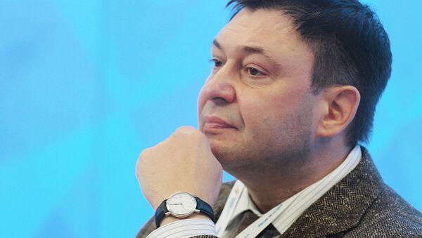 Kiril Vishinski, jefe del portal de noticias RIA Novosti Ukraina - Sputnik Mundo