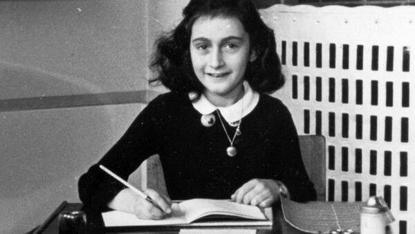 Ana Frank en 1940 - Sputnik Mundo