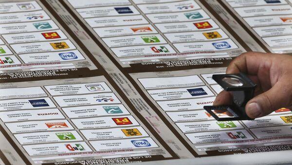 Boletas electorales en México - Sputnik Mundo