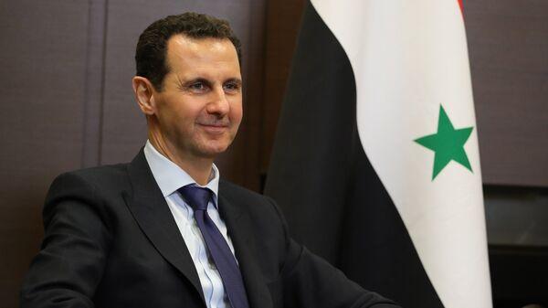 Bashar Asad, el presidente de Siria - Sputnik Mundo