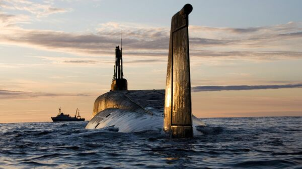 K-535 Yuri Dolgoruki, submarino estratégico nuclear del Proyecto 955 Boréi - Sputnik Mundo