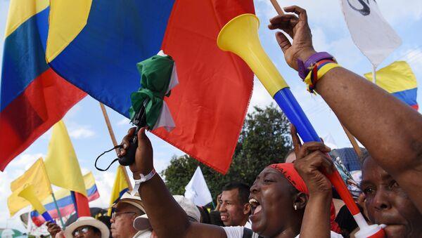 Las banderas de Colombia - Sputnik Mundo