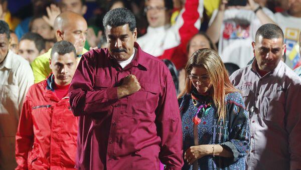 Nicolás Maduro, el presidente reelecto de Venezuela - Sputnik Mundo
