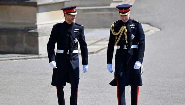 El príncipe Harry, el día de su boda con Meghan Markle - Sputnik Mundo