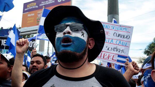 Protestas en Nicaragua - Sputnik Mundo