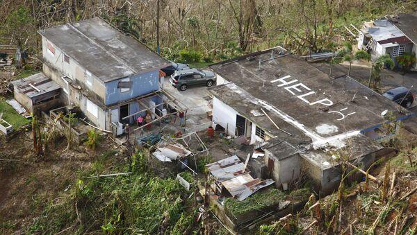 Consecuencias del huracán María en Puerto Rico - Sputnik Mundo