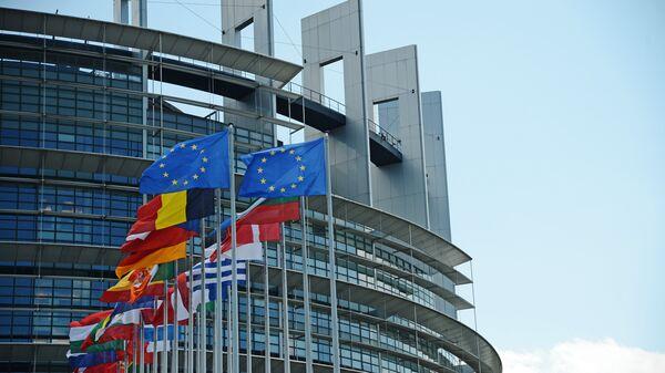 Sede del Parlamento Europeo en Estrasburgo - Sputnik Mundo