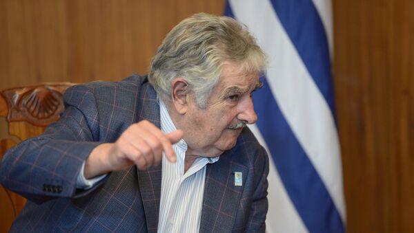 Expresidente de Uruguay, José Pepe Mujica. - Sputnik Mundo