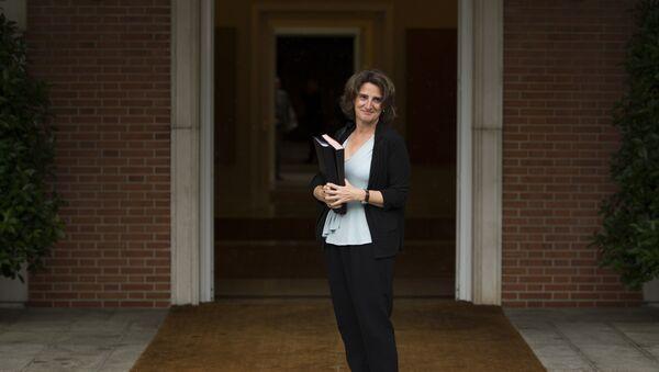 Teresa Ribera, la nueva ministra española de Transición Ecológica - Sputnik Mundo