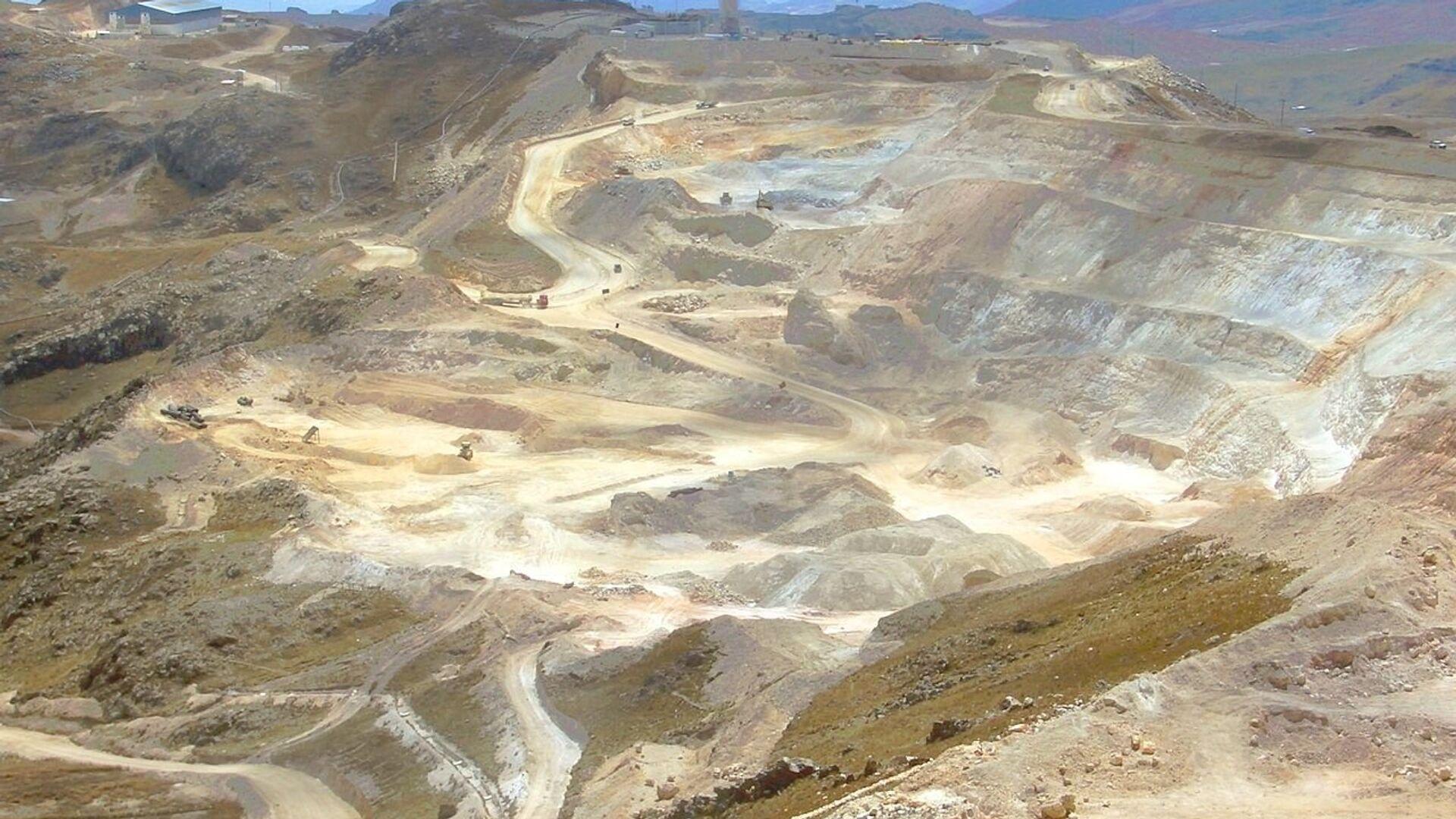 Mina de oro en Perú - Sputnik Mundo, 1920, 05.10.2021
