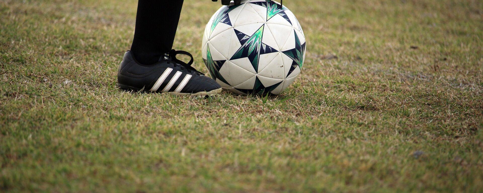 Una pelota de fútbol - Sputnik Mundo, 1920, 23.03.2021