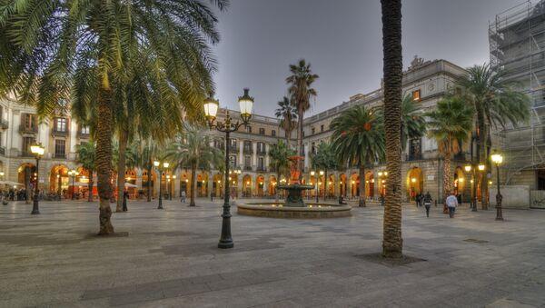 Plaça Reial, Barcelona - Sputnik Mundo