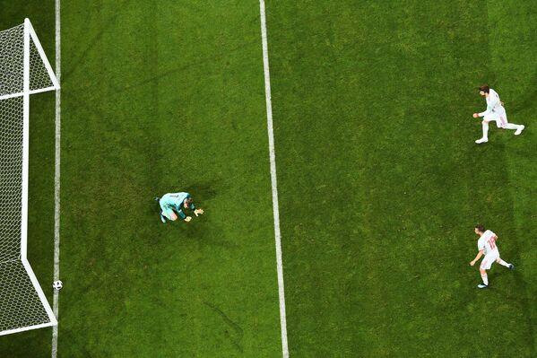 Gol de Portugal contra España - Sputnik Mundo