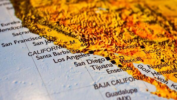 California en el mapa - Sputnik Mundo