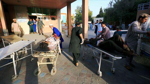Los heridos en ataque en Jalalabad en Afganistán - Sputnik Mundo