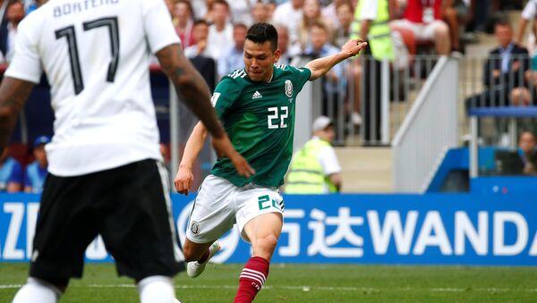 Hirving Lozano, jugador la selección mexicana - Sputnik Mundo