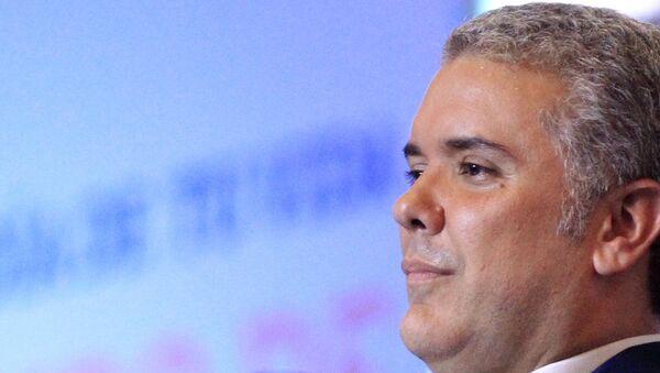 El futuro presidente de Colombia, el conservador Iván Duque. - Sputnik Mundo