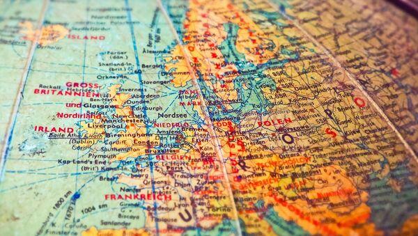 Mapa de Europa del siglo XX (imagen referencial) - Sputnik Mundo