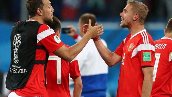 La selección rusa del fútbol - Sputnik Mundo