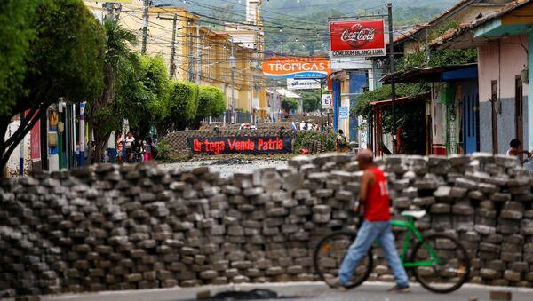La situación en Nicaragua (archivo) - Sputnik Mundo
