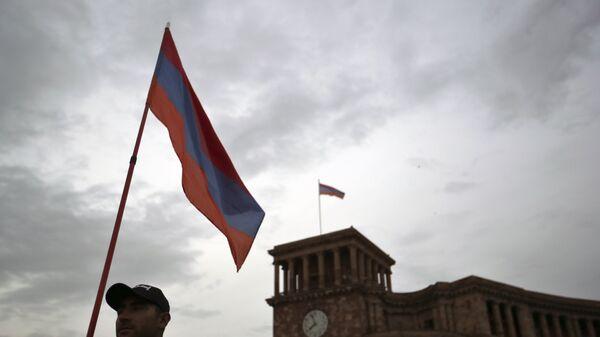 Bandera de Armenia - Sputnik Mundo