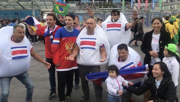 Aficionados de Costa Rica - Sputnik Mundo