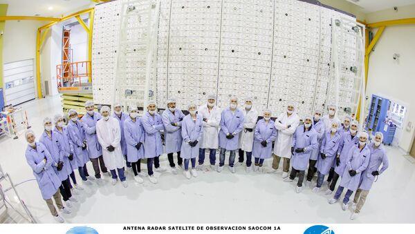 Instalaciones de INVAP, la empresa estatal argentina encargada de la construcción de sus nuevos satélites - Sputnik Mundo