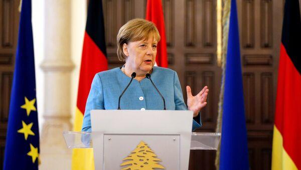 Angela Merkel, canciller de Alemania en Beirut, Líbano - Sputnik Mundo