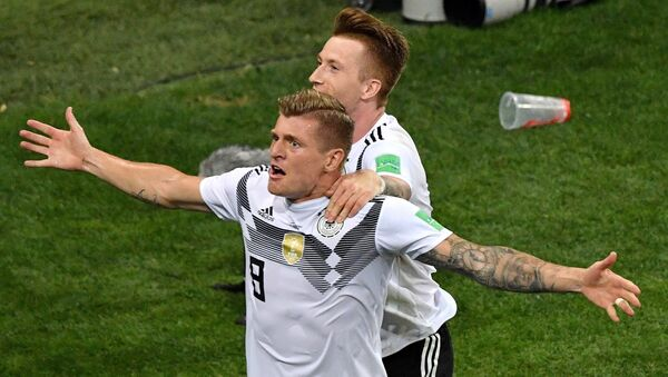 Jugadores alemanes - Sputnik Mundo
