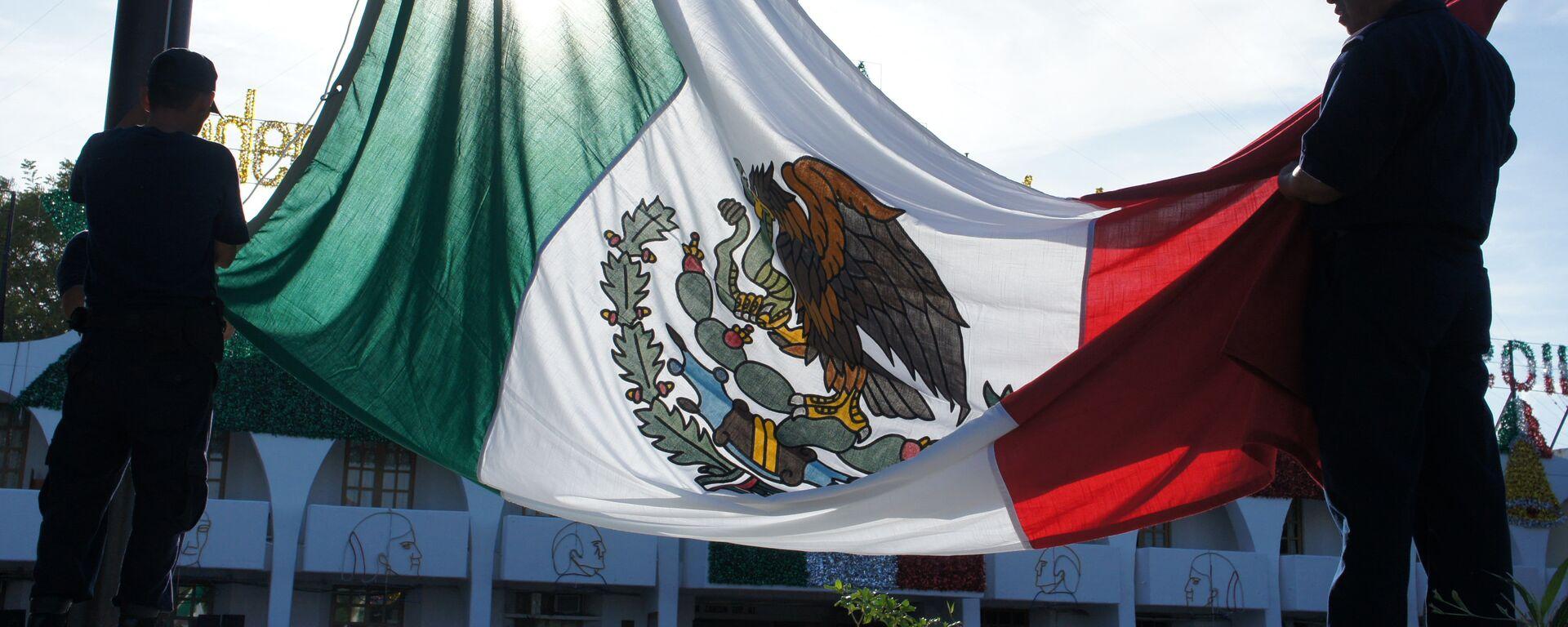 La bandera de México - Sputnik Mundo, 1920, 08.08.2019