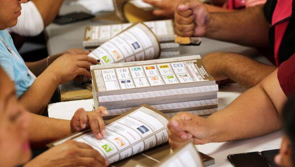 Papeletas electorales para las elecciones presidenciales en México - Sputnik Mundo
