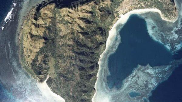 Isla Sotobanari - Sputnik Mundo