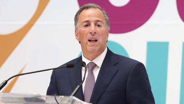 José Antonio Meade, candidato presidencial mexicano - Sputnik Mundo