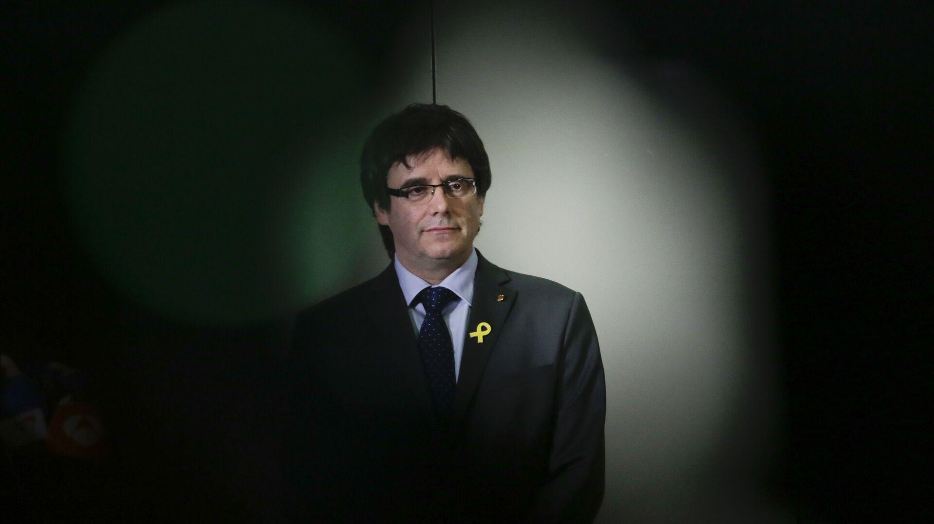 Carles Puigdemont, expresidente de Cataluña - Sputnik Mundo, 1920, 23.07.2021