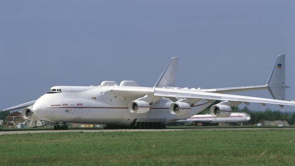 Un Antonov An-225 (archivo) - Sputnik Mundo