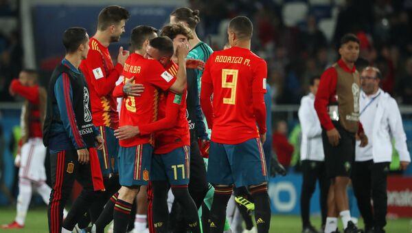 Los jugadores de la selección española en el Mundial de Rusia - Sputnik Mundo