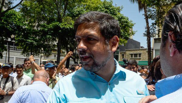 Carlos Ocariz, exacalde opositor del municipio venezolano de Sucre - Sputnik Mundo