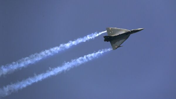 Avión de combate de la India (Archivo) - Sputnik Mundo