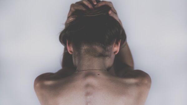 Una mujer deprimida - Sputnik Mundo