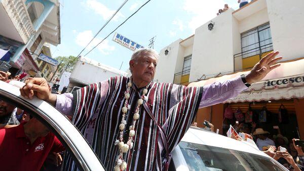 Andrés Manuel López Obrador, el presidente electo de México - Sputnik Mundo