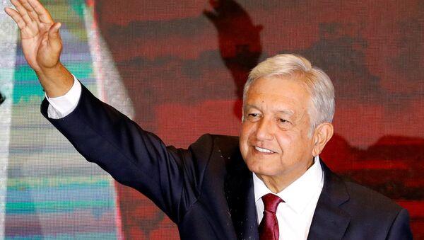Andrés Manuel López Obrador, presidente electo de México - Sputnik Mundo